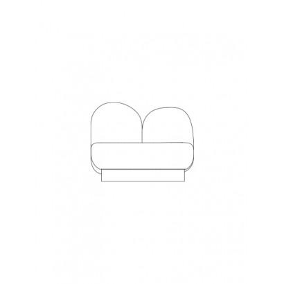 1-seat-sofa without armrest bangar sand Destroyers Builders