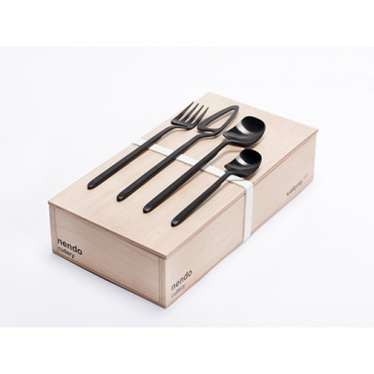 GIFTBOX NENDO BLACK 16PCS Nendo