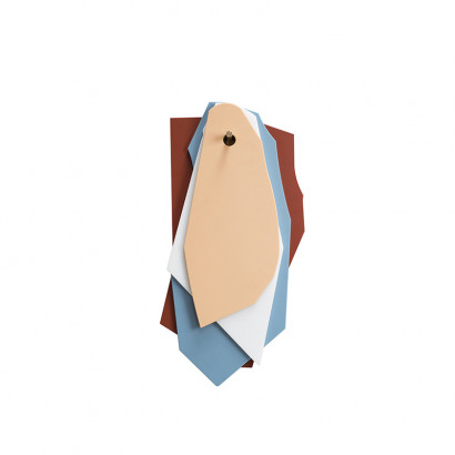 cutting boards brown_light blue_white_pink Muller Van Severen