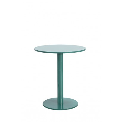 ROUND TABLE S HAMMERPAINT GREEN D65,5 H74 Muller Van Severen