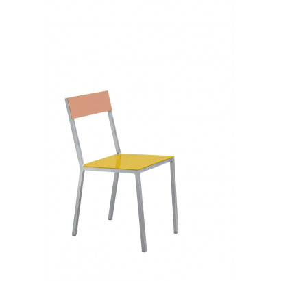 alu chair yellow_pink Muller Van Severen