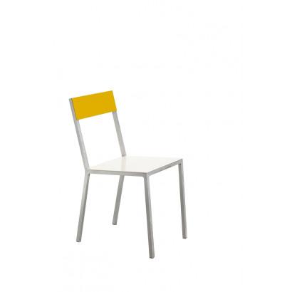alu chair white_yellow Muller Van Severen