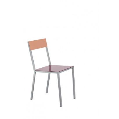 alu chair burgundy_pink Muller Van Severen