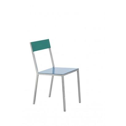 alu chair hammerpaint blue_hammerpaint green Muller Van Severen
