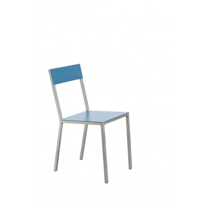 ALU CHAIR 52,5X38 H80 HAMMERPAINT BLUE/HAMMERPAINT BLUE Muller Van Severen