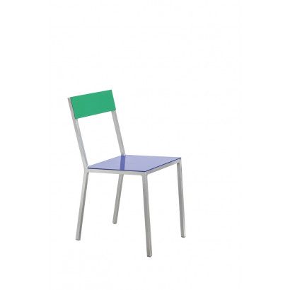 alu chair dark blue_green Muller Van Severen