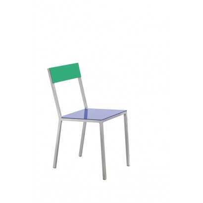 ALU CHAIR 52,5X38 H80 DARK BLUE/GREEN Muller Van Severen