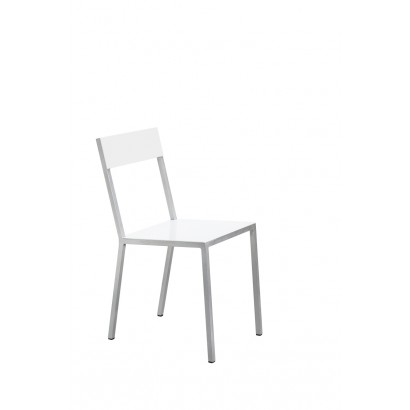 ALU CHAIR 52,5X38 H80 WHITE/WHITE Muller Van Severen