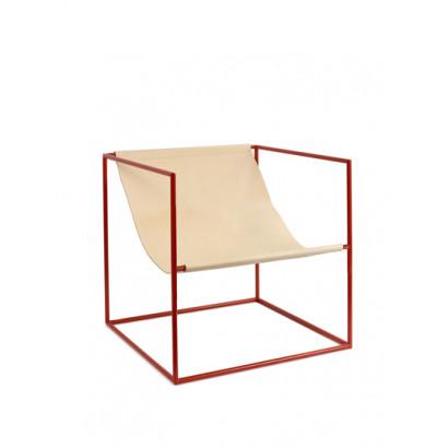 solo seat red_leather Muller Van Severen