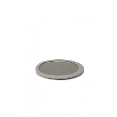 PLATE S LIGHT GREY Maarten Baas