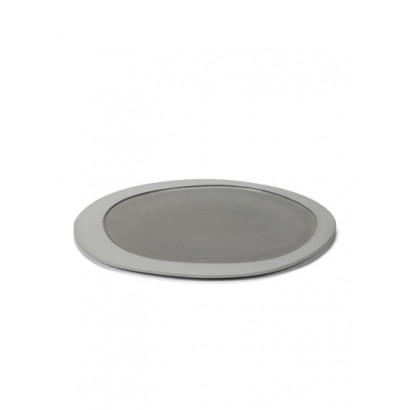 PLATE L LIGHT GREY Maarten Baas