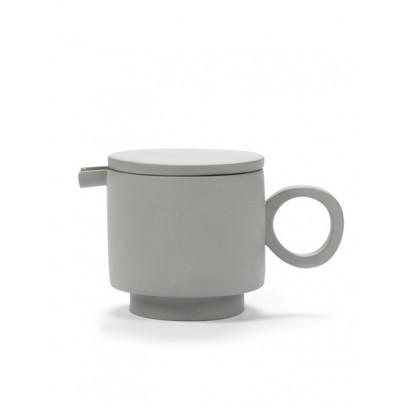 TEA POT MAARTEN BAAS LIGHT GREY Maarten Baas