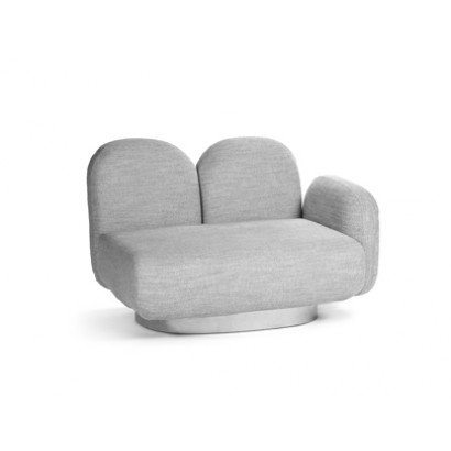 1-seat-sofa with 1 armrest right gijon grey Destroyers Builders