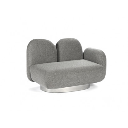 1-SEAT SOFA WITH 1 ARMREST RIGHT ASSEMBLE SEVO GREY Destroyers Builders