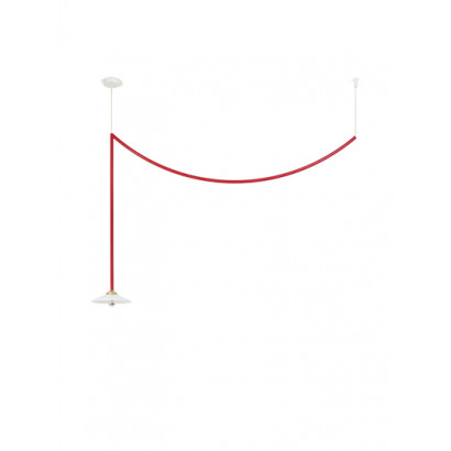 CEILING LAMP N°4 RED Muller Van Severen