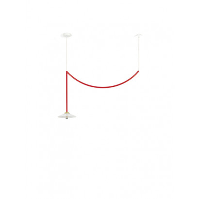 CEILING LAMP N°5 RED Muller Van Severen