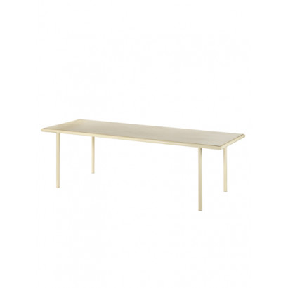 WOODEN TABLE RECTANGULAR IVORY / BIRCH Muller Van Severen