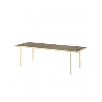 WOODEN TABLE RECTANGULAR IVORY / WALNUT Muller Van Severen