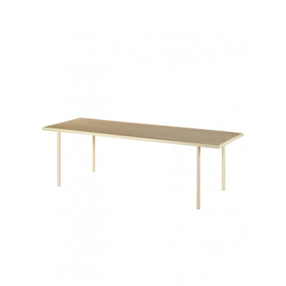 WOODEN TABLE RECTANGULAR IVORY / OAK Muller Van Severen