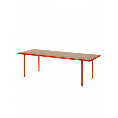 WOODEN TABLE RECTANGULAR RED / CHERRY Muller Van Severen