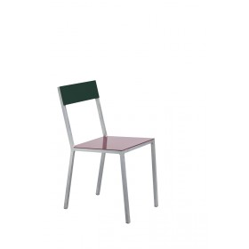 ALU CHAIR 52,5X38 H80 WHITE SEAT /YELLOW BACK Muller Van Severen