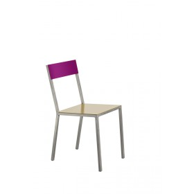 alu chair burgundy_pink Muller Van Severen