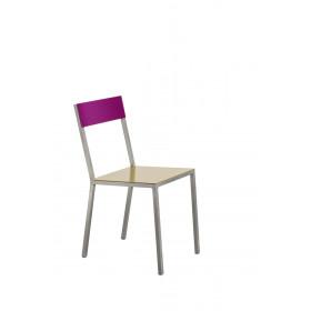 alu chair yellow_pink Muller Van Severen