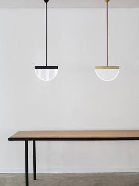 PENDANT LAMP BRASS HALO Maarten De Ceulaer