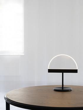 TABLE LAMP BLACK HALO Maarten De Ceulaer