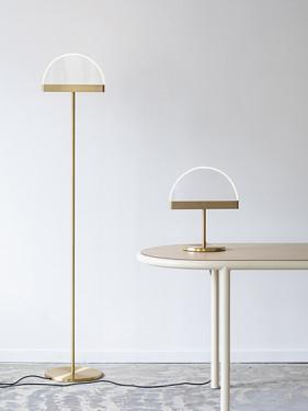 TABLE LAMP BRASS HALO Maarten De Ceulaer