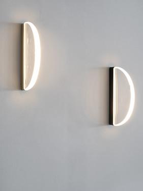 WALL LAMP BLACK HALO Maarten De Ceulaer