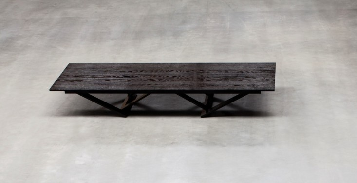 ta tisch massive oak Robbrecht en Daem architecten