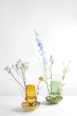 hidden vase small green Chris Kabel