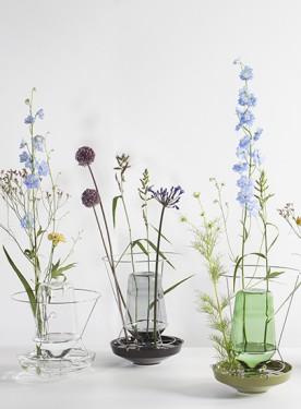 hidden vase large clear Chris Kabel
