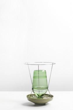 hidden vase large green Chris Kabel