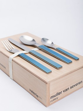 GIFTBOX MVS BLUE 16 PCS Muller Van Severen