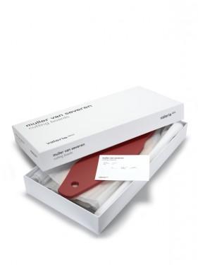 cutting boards black_brown_pink_red Muller Van Severen