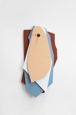 cutting boards brown_light blue_white_pink Muller Van Severen