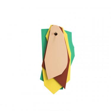 cutting boards green_yellow_brown_pink Muller Van Severen
