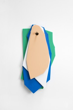 cutting boards green_dark blue_white_pink Muller Van Severen