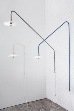 hanging lamp n°4 blue Muller Van Severen