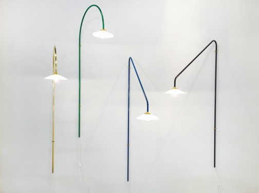 hanging lamp n°2 green Muller Van Severen