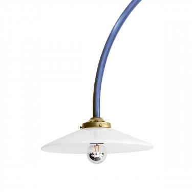 hanging lamp n°2 blue Muller Van Severen
