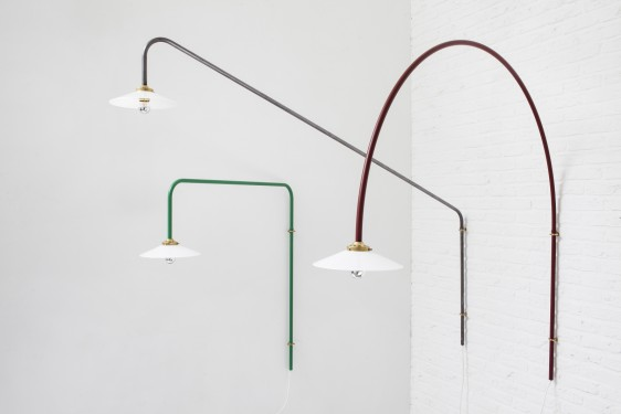 Hanging lamp n5 green muller van severen