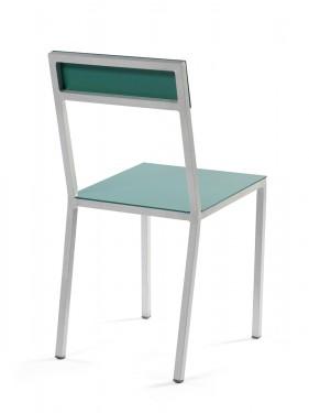 alu chair hammerpaint green Muller Van Severen