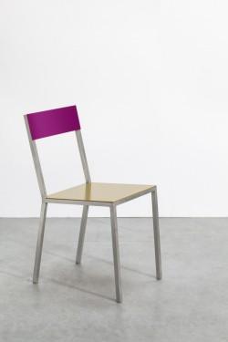 alu chair curry_candy purple Muller Van Severen