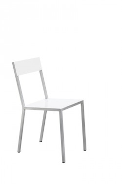 alu chair white Muller Van Severen