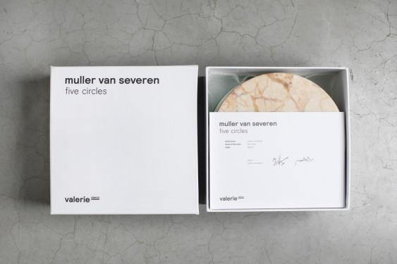 FIVE CIRCLES D21 H10 SET/5 C MARMER ROZE GROEN/WH-BR-LB Muller Van Severen