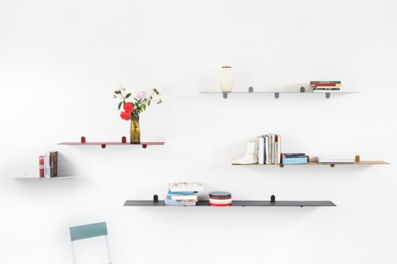 shelf n°3 light grey Muller Van Severen