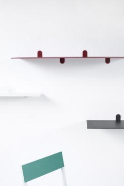 SCHAP N°3 MVS BENDED STEEL 4MM - 148X25X12 WIT GELAKT Muller Van Severen